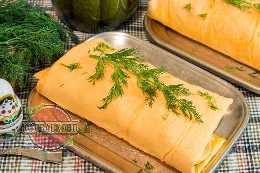 Рецепт домашней шаурмы в лаваше с колбасой