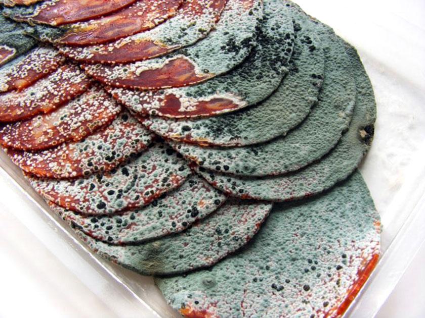 испорченная колбаса