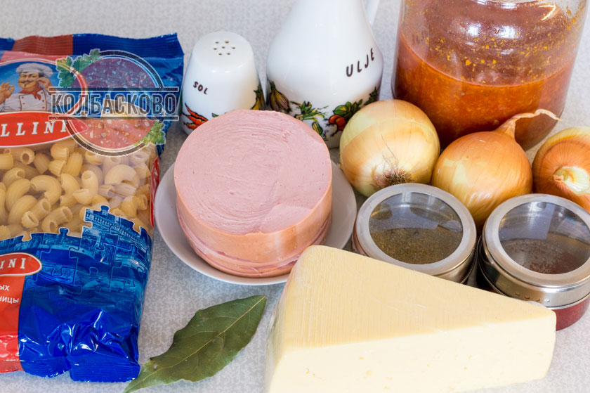 ингредиенты для лазаньи
