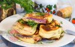 Колбаса в тесте на сковороде, рецепт