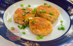 Котлеты из колбасы вареной с сыром
